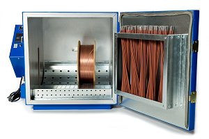 Spooled Wire and Electrode Storage Oven